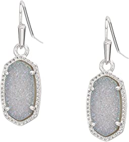 Rhodium Steel Gray Drusy