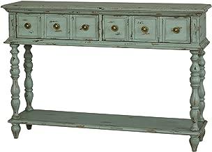 Pulaski Emily Leg Console, 48 x 12 x 33, Grey