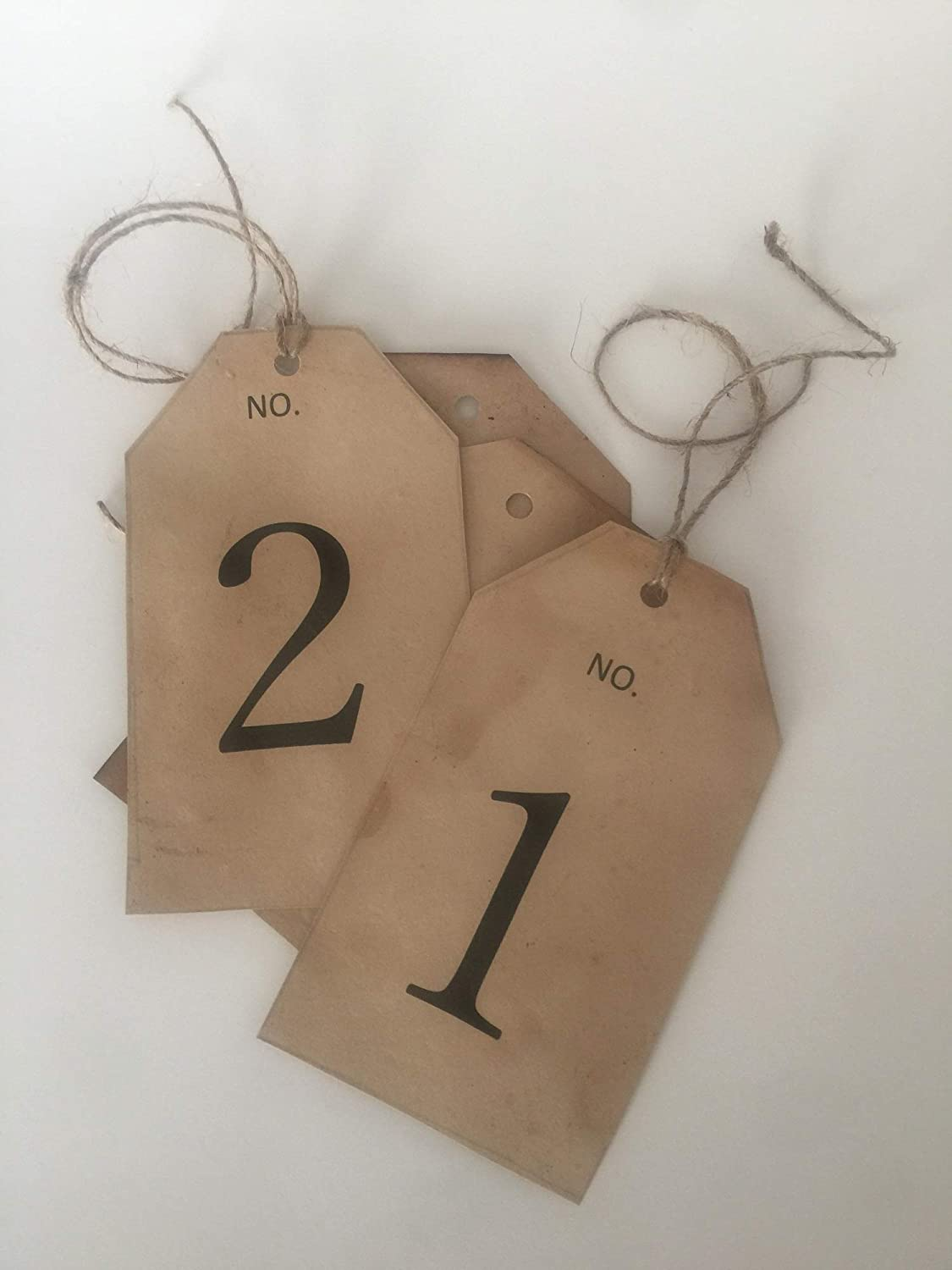 Set of 10 Rustic Table Cards- Ranking A surprise price is realized TOP5 Rust Wedding Numbers- Number