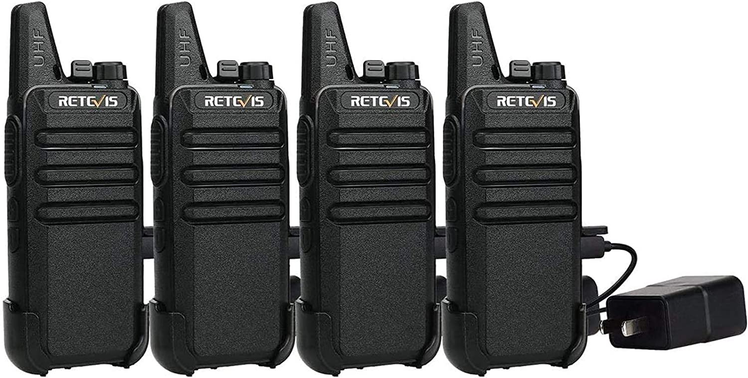 Retevis RT22 Two Way Radio Long Los Angeles Mall 2 Portable Rechargeable Wa Range Max 88% OFF