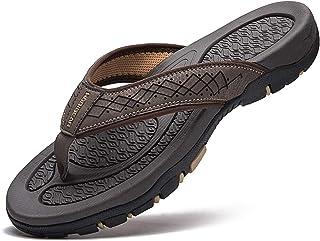 GUBARUN Flip Flops for Men Thong Sandals Lightweight Shoes for Outdoor and Indoor