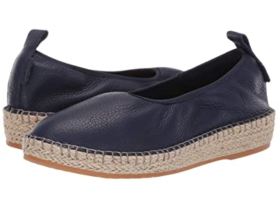Cole Haan Cloudfeel Espadrille Loafers (Marine Blue Leather/Natural Jute) Women