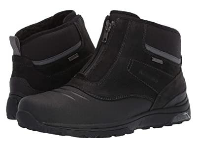 Dunham Trukka Waterproof Zip Boot (Black) Men