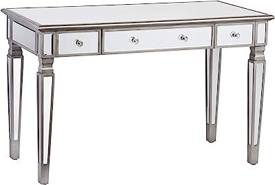Amazon.com: Pulaski Marie Mirrored Desk: Kitchen & Dining