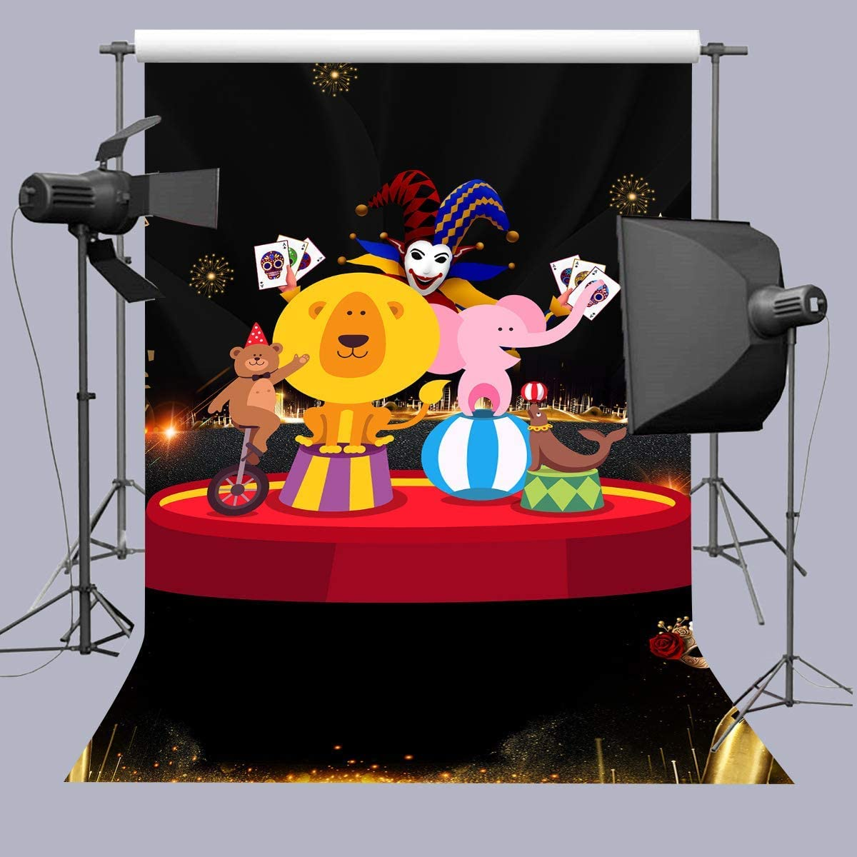 10x6.5ft Magic Academy Background Magic Wand Backdrop for Children Party Photography Props Photo Studio Banner DSFU181