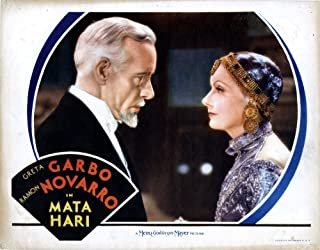 Posterazzi MATA Hari from Left Lewis Stone Greta Garbo 1931 Movie Masterprint Poster Print, (14 x 11)