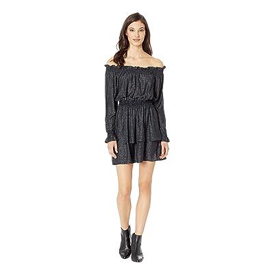 Show Me Your Mumu Esmeralda Dress (Charcoal Cheetah Silky) Women