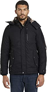 TOM TAILOR Men's jackets modern winter jacket with removable hood
