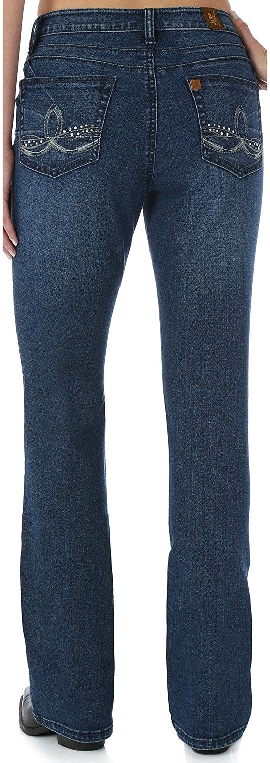 Wrangler Women's Aura Instantly Slimming with Booty Up Technology Jean