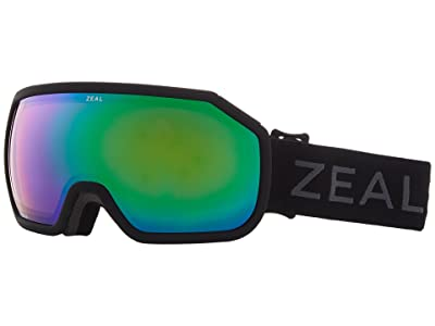 Zeal Optics Fargo (Dark Night w/ Jade Mirror Lens) Goggles