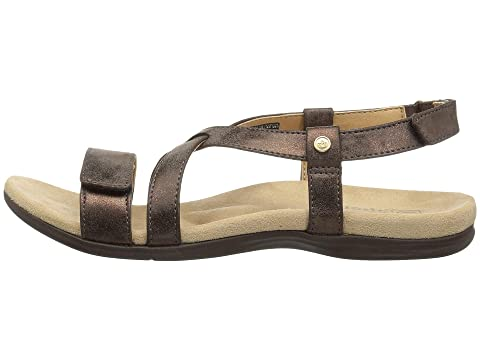 Strap Cross BrownTan BlackDark Spenco BlackDark Strap BrownTan Spenco Spenco Cross wqwFOBa
