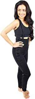 Ankle Length Body Shaper Suspenders Great Tummy Tuck, Mommy Makeover (36Z)