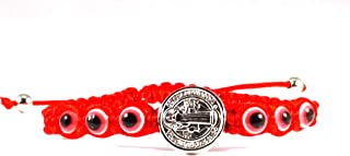 San Benito Evil Eye Red Adjustable Bracelet