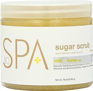 BCL SPA Sugar Scrub Milk + Honey with White Chocolate,16 oz