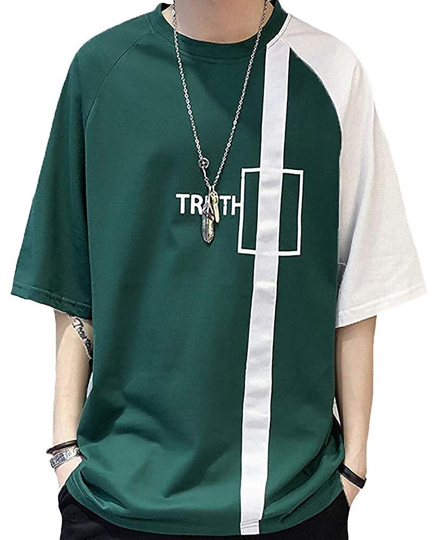 [ Smaids x Smile (スマイズ スマイル) ] Tシャツ 七分袖 五分袖 ファッション カジュアル カットソー ロゴ メンズ