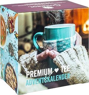 Corasol cor60tea Premium té de Calendario de Adviento con 24navideños té variedades (1Pieza)