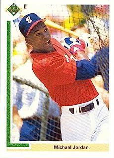 273facdf772641 1991 Upper Deck Short Print #SP1 Michael Jordan Pre-Rookie Baseball Card -  First