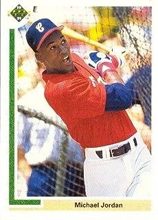 1991 michael jordan baseball card
