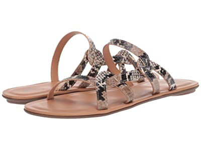 Aquatalia April (Natural Snake Print) Women