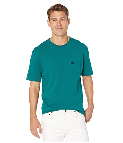 RVCA Day Shift Label Short Sleeve (Alpine) Men