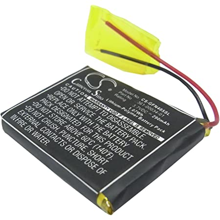 GPS & Navigation GPS System Accessories 290mAh 3.7V Battery ...