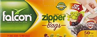 Falcon Zipper Bags - Clear