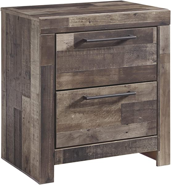 Signature Design By Ashley B200 92 Derekson Nightstand Multi Gray