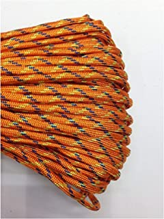 QKKstore 550 Paracord Parachute Cord Lanyard Tent Rope Guyline Type Iii 7 Strand 25Ft for Hiking Camping