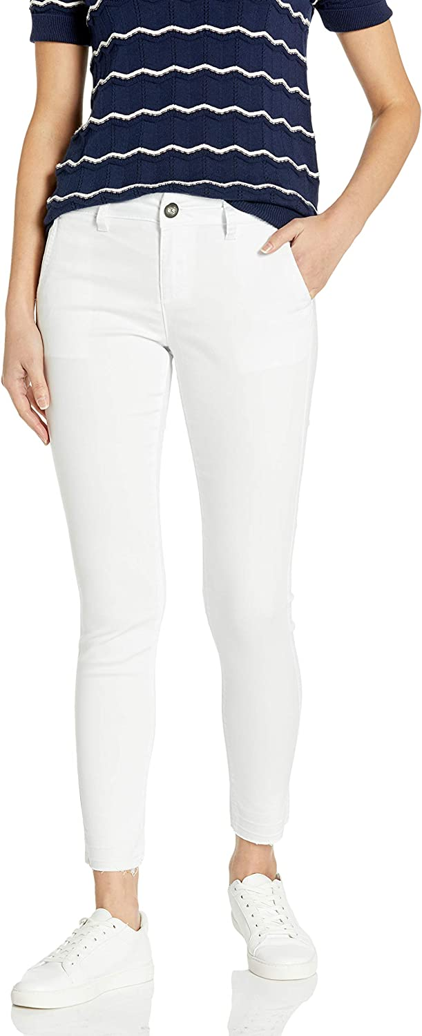 COVER Ranking integrated 1st place GIRL Women's Cute Twill Colored Pants Special price Skinny Denim Trouser
