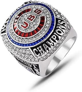 2016 Cubs Chicago World Championship Ring Men's Souvenir Baseball Championship Replica Ring Size 8-14