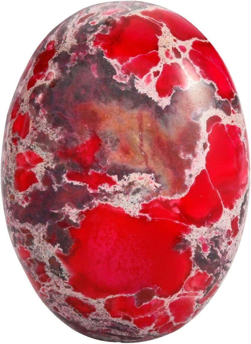 rockcloud 22x30mm Lowest price challenge Oval Cabochon Popular product Se Semi-Precious Flatback Stones