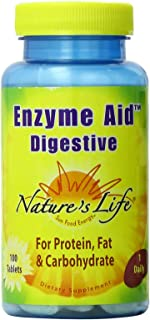 Nature's Life Enzyme Aid Digestive | 100 ct