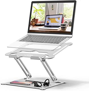 Laptop Stand, Laptop Holder, Multi-Angle Stand with Heat-Vent to Elevate Laptop, Adjustable Notebook Stand for Laptop up t...