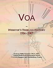Voa: Webster's Timeline History, 1524 - 2007