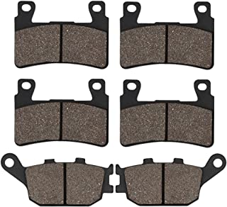 Cyleto Front and Rear Brake Pads for Honda CBR929RR CBR 929RR 2000 2001 / CBR 954RR CBR954RR CBR 954 RR 2002 2003