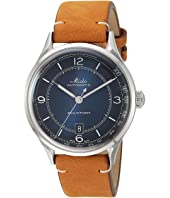 Mido - Multifort Patrimony Stainless Steel Case and Tan Leather Strap - M0404071604000