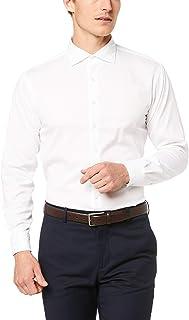 Van Heusen Men's Tailored Fit Shirt Washed Cotton
