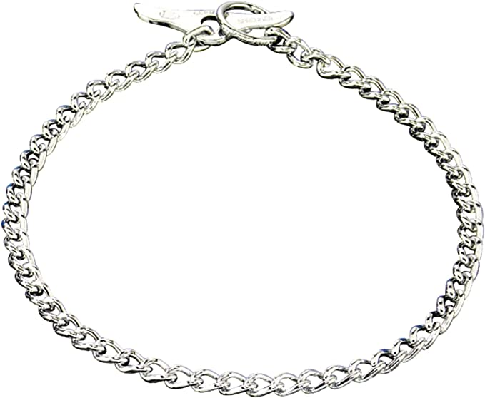 Herm Sprenger Medium Choke Chain 19 with Toggle by Gunny-gear