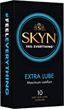 SKYN Extra Lubricated Condom 10 Pack, 10 count