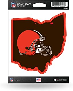 Rico Industries NFL Cleveland Browns Home State Sticker