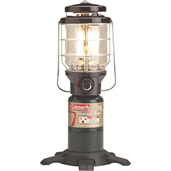 Stansport 2 Mantle Propane Lantern Black 170