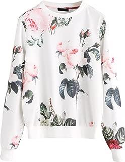 ladies floral sweaters