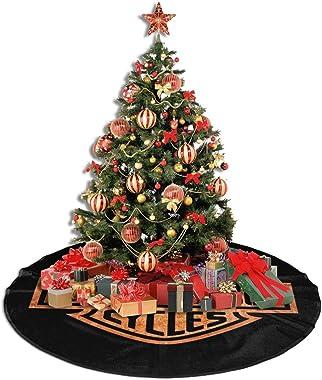 """Lovesofun Christmas Tree Skirt, Harley David-Son Festival Tree Mat Xmas Tree Ornament Christmas Decoration Accessory for Holiday Party 36"""""""