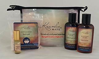 Kuumba Made Four (4) Treasures Collection Gift Set (Egyptian Musk)