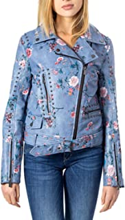Desigual Luxury Fashion Womens 20SWEW61LBLUE Light Blue Outerwear Jacket   Fall Winter 19