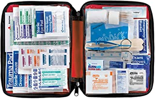 American Red Cross Deluxe All Purpose First Aid Kit Soft Case 299 Pieces - Emergency Kit Small First Aid Kit Trauma Kit Travel Medicine Kit