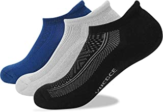 d8ac1dfd586 YUEDGE Mens Socks Size 6-11 12 Cotton Rich Athletic Socks of Wicking  Breathable Cushion