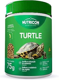 Turtle 75gr Nutricon Para Tartaruga Aquática Adulto