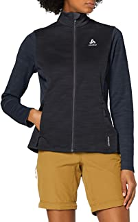 Odlo Women's Midlayer Full Zip Blaze CERAMIWARM Element Fleece Jacket