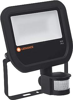 LEDVANCE FLOODLIGHT 50 W 3000 K IP65 BK S LED Negro - Proyectores (50 W, LED, Negro, Blanco cálido, 3000 K, 5500 lm)